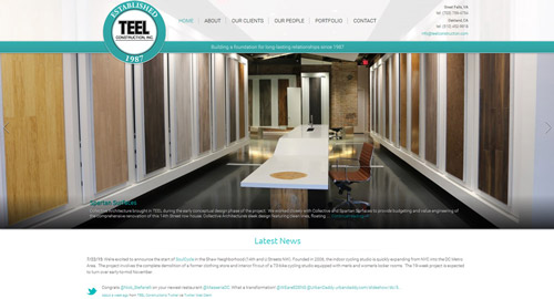 TEEL WEBSITE